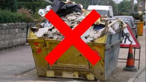 Skip hire Dewsbury alternative